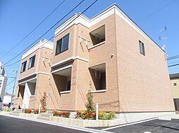 大阪府松原市東新町4丁目の賃貸アパートの外観