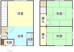 [タウンハウス] 広島県廿日市市深江3丁目 の賃貸【広島県 / 廿日市市】の間取り
