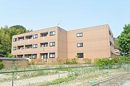 京都府八幡市八幡福禄谷の賃貸マンションの外観