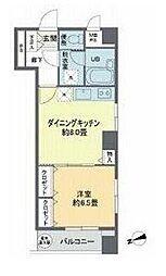 東京都杉並区善福寺1丁目の賃貸マンションの間取り