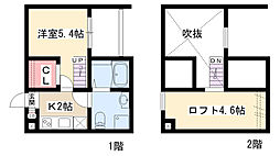 ALLURE358[2階]の間取り
