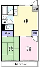 吉田マンション[207号室号室]の間取り