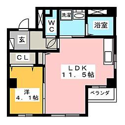 OTC田町マンション[5階]の間取り