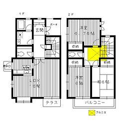 [一戸建] 東京都練馬区桜台4丁目 の賃貸【/】の間取り