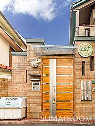 福岡県福岡市早良区西新1丁目の賃貸アパートの外観