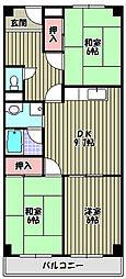 杉江マンション[1階]の間取り