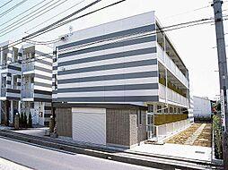 埼玉県戸田市新曽南3丁目の賃貸マンションの外観