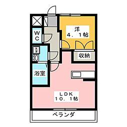 イア タウン[1階]の間取り