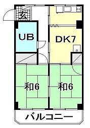 La Casa タイケンV[306 号室号室]の間取り