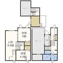 [一戸建] 北海道札幌市中央区南十七条西12丁目 の賃貸【/】の間取り