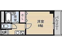 本町八番館[3階]の間取り