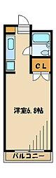 ルミヨール1[2階]の間取り