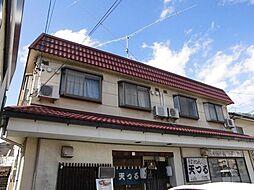 長野県長野市宮沖の賃貸アパートの外観
