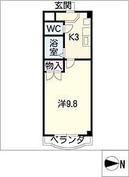 第5松波ビル 東館[4階]の間取り