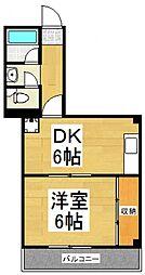 小糸ビル[4階]の間取り