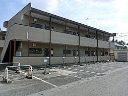 茨城県古河市鴻巣の賃貸アパートの外観
