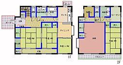 [一戸建] 茨城県ひたちなか市勝倉 の賃貸【/】の間取り