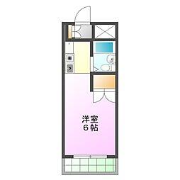 土屋ビル[6階]の間取り