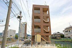 大阪府交野市私部西3丁目の賃貸マンションの外観