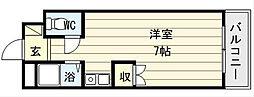 メゾン新今里[6階]の間取り