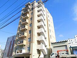 北海道札幌市豊平区月寒中央通7丁目の賃貸マンションの外観