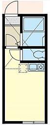 ユナイト横浜エトランゼ[2階]の間取り