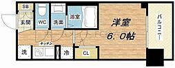 エステムプラザ福島ジェネル[3階]の間取り