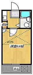 富士見パレス[2階]の間取り