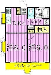 エレナマンション[3階]の間取り