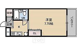 高倉マンション[5階]の間取り