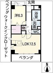 シェルフォーブルIII[3階]の間取り