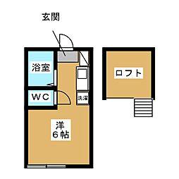 妙蓮寺駅 6.1万円