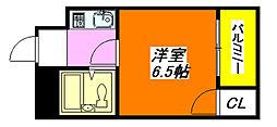 ジョイライフ永和 201号室[2階]の間取り