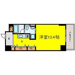 N.S.ZEAL泉[11階]の間取り