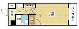 シティライフ新大阪III[1階]の間取り