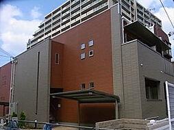 大阪府高槻市富田丘町の賃貸アパートの外観