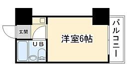 大阪府大阪市城東区諏訪1丁目の賃貸マンションの間取り