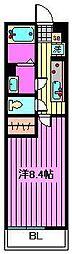 リブリ・daimon[1階]の間取り