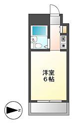 ドール青峰通 (セイホウドオリ)[3階]の間取り
