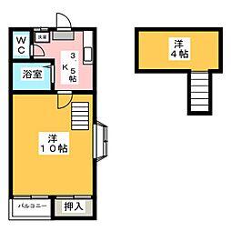ミタホーム韮塚[2階]の間取り