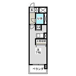 ライオンズマンション二軒茶屋[2階]の間取り