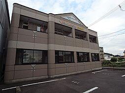 岐阜県岐阜市前一色1丁目の賃貸マンションの外観