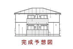 兵庫県神戸市北区藤原台中町3丁目の賃貸アパートの外観