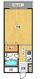 フォレスト大蔵[1階]の間取り