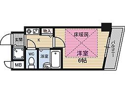 ラナップスクエア新福島[5階]の間取り