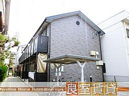 愛知県名古屋市南区中江2丁目の賃貸アパートの外観