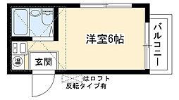 愛知県長久手市井堀の賃貸アパートの間取り