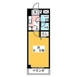 URBAN SENSATION[4階]の間取り