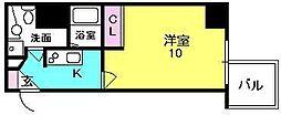 S-FORT西宮[5階]の間取り