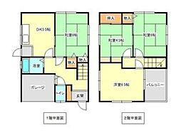 [一戸建] 兵庫県神戸市垂水区塩屋町6丁目 の賃貸【/】の間取り